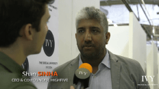 Shan Sinha CEO of HighFive Video