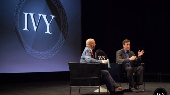 billionaire entrepreneur and philanthropist todd wagner speaks about the future of social impact at an ivy entrepreneur night in new york city