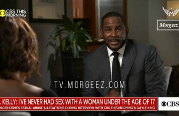 r kelly interviews with cbsn