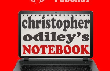 the christopher odiley notebook podcast