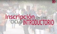 Inscripción Ciclo Introductorio