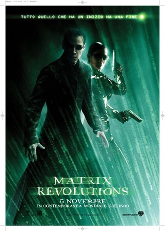 Matrix revolutions Stasera su Italia 1
