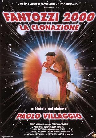 Fantozzi 2000-la clonazione Stasera su Italia 1