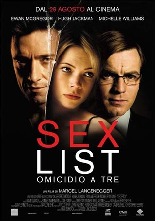 Sex List - Omicidio a tre Stasera su Rai Movie