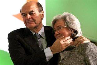 Bersani abbraccia la Bindy