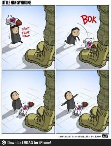 Kim Joung-un e l'impotenza