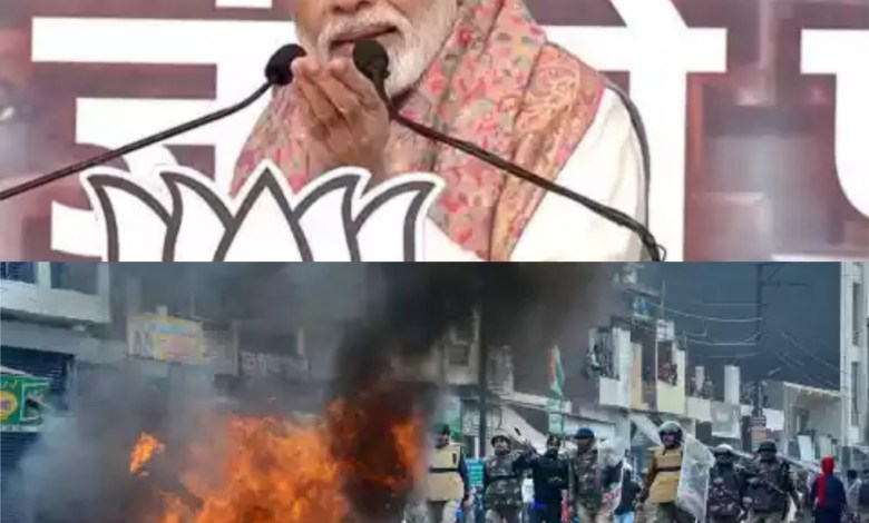 కాంగ్రెస్ పార్టీ కి మోడీ హెచ్చరిక. Modi strong counter to Congress