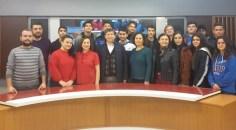 ÇEP Anadolu Lisesi öğrencileri TVA'yı ziyaret etti