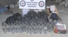 Adana'da 150 bin lira değerinde kaçak ürün ele geçirildi