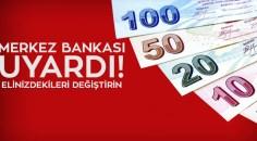 Merkez Bankası'ndan YTL uyarısı