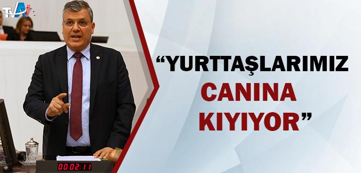 CHP'li Barut ekonomik krize çözüm istedi