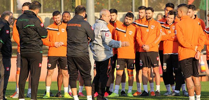 Adanaspor'da derbi hazırlıkları başladı!
