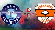 67 yıllık rekabet, Adana Demirspor-Adanaspor derbisi!