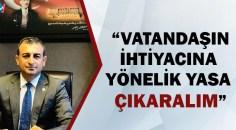 CHP'li Bulut halkın geçim sıkıntısına değindi