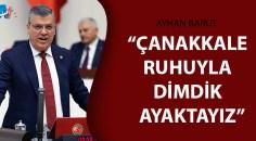 CHP'li Barut Çanakkale zaferini kutladı