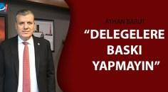 CHP'li Barut'tan ZMO Genel Kurulu tepkisi