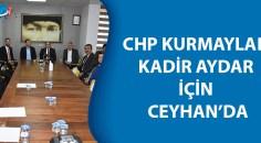 Başkan Aydar'a destek için toplandılar