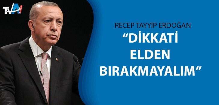 Cumhurbaşkanı Erdoğan'dan koronavirüs paylaşımı