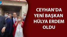 Ceyhan'da yeni başkan belli oldu