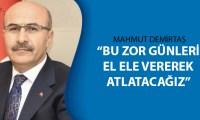 Vali Mahmut Demirtaş'tan açıklama