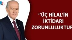 Devlet Bahçeli adına twitter'den açıklama yayınladı