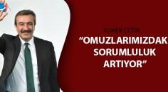 Soner Çetin en başarılı ikinci belediye başkanı seçildi