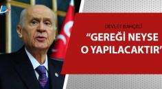 MHP Lideri Bahçeli açıkladı
