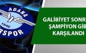 Adana Demirspor ikinciliğe yükseldi