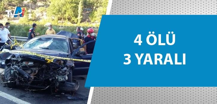 Pozantı'da trafik kazası