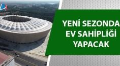 Yeni Adana Stadyumu'nun hibrit çim serimi tamamlandı!