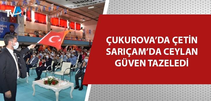 AK Parti Adana'da ilçe kongreleri devam ediyor!