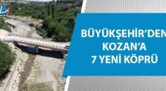 7 yeni araç köprüsünün yapım işlemi tamamlandı