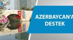 Adana, Türk ve Azerbaycan bayraklarıyla donatıldı