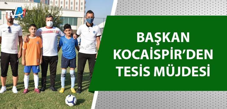 U-13 Fatih Mehmet Kocaispir Futbol Turnuvası başladı
