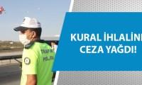 Adana'da helikopterli maske uygulaması