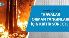 Adana Orman Bölge Müdürü Yılmaz  açıkladı