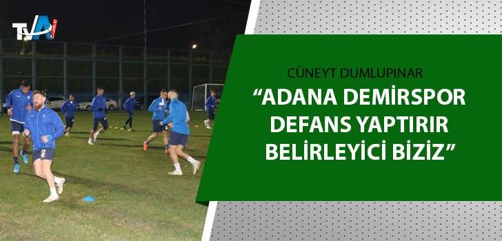Adana Demirspor'da Balıkesirspor maçı hazırlıkları sürüyor