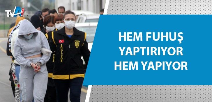 Adana'da fuhuş operasyonu!