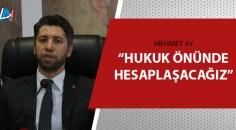 AK Parti Adana İl Teşkilatı'ndan 3 isme suç duyurusu