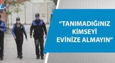 Adana polisi vatandaşları fal ve kapıdan satış için uyardı!