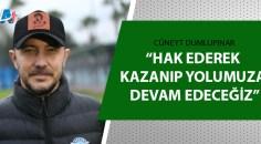 Adana Demirspor'da Altay maçının hazırlıkları sürüyor