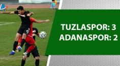 Adanaspor, Tuzlaspor'a mağlup oldu