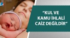 Diyanet'ten sezaryen doğum açıklaması
