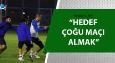 Adana Demirspor'da Samsunspor maçının hazırlıklarını sürüyor
