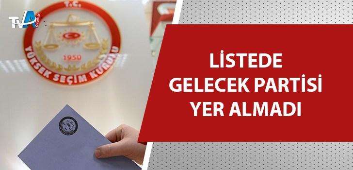 YSK, ara seçime girebilecek 19 partiyi açıkladı