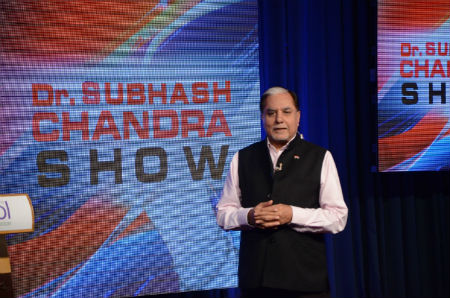 Dr. Subhash Chandra focuses on Time Management