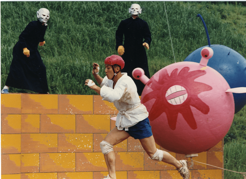 """Tokyo Broadcasting System's """"Takeshi's Castle"""" celebrates tenth anniversary"""