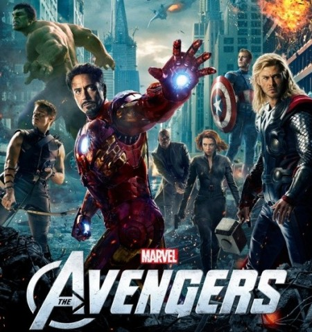 The Avengers fight their way to top of the charts