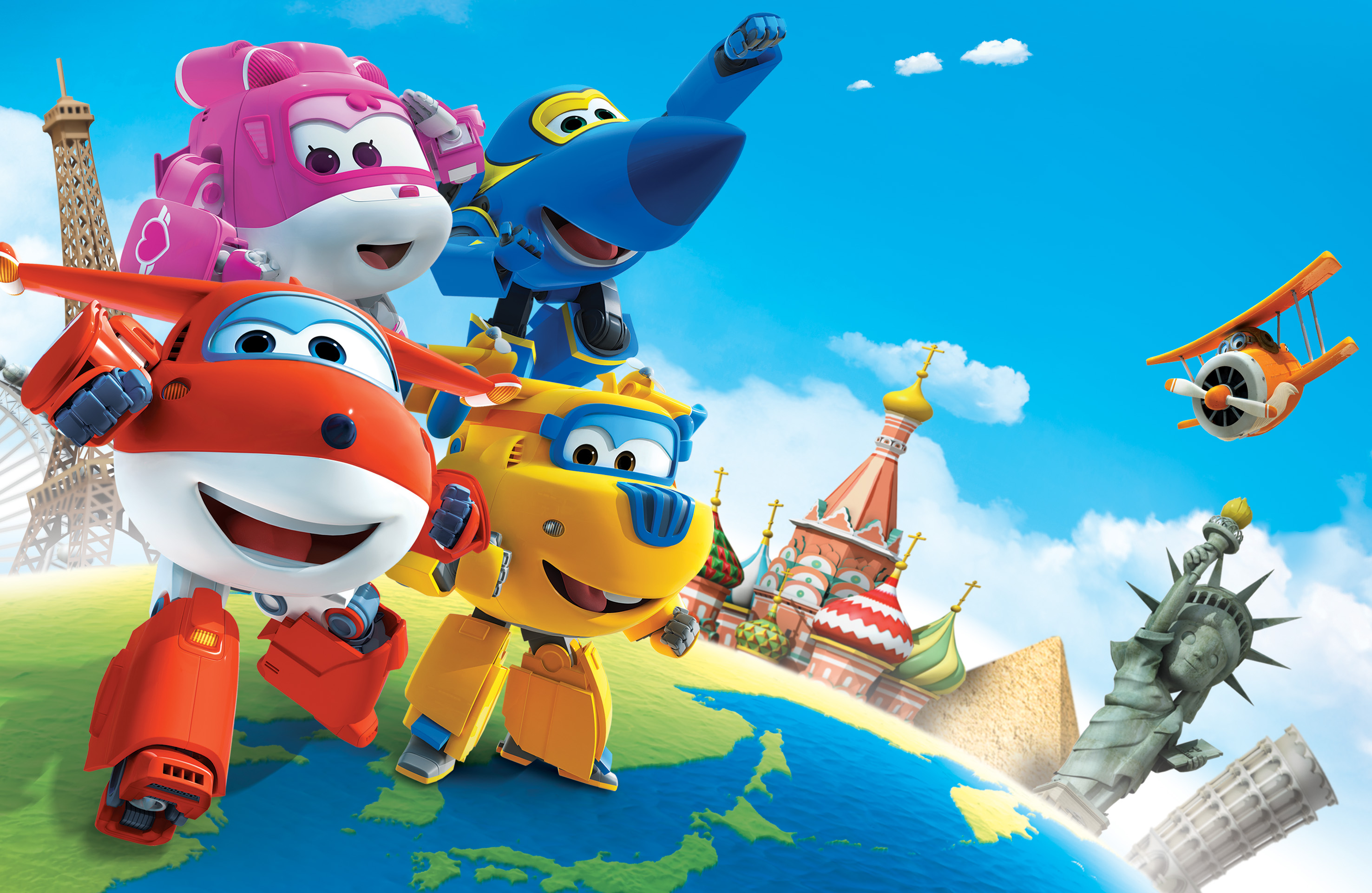 Top Super Wings ready for takeoff on KiKA - Television Asia Plus AJ12