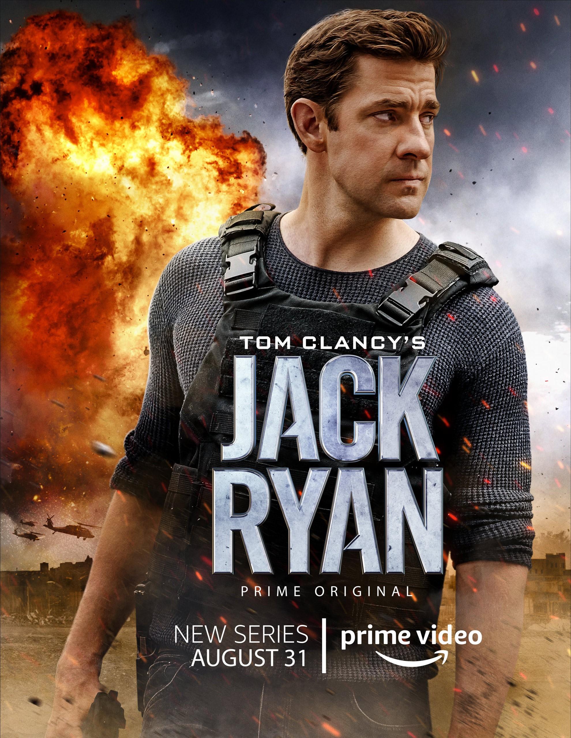 """Tom Clancy's Jack Ryan"" debuts trailer and key art"